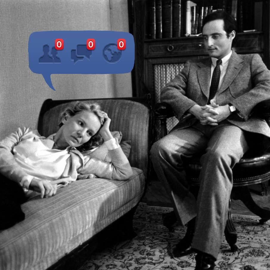 Facebook psychanalyse - Humour