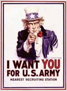J.M. Flagg - I want you - 1917