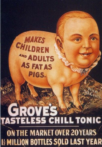 Grove's tasteless chill tonic