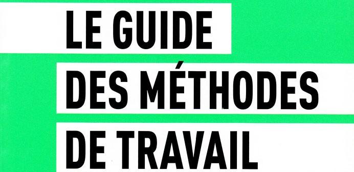 Livre : Guide des méthodes de travail de l'étudiant