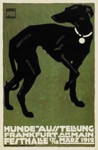 Hohlwein - Hunde ausstellung -1912