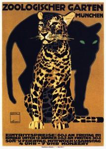 Hohlwein - Zoologischer garten - 1912