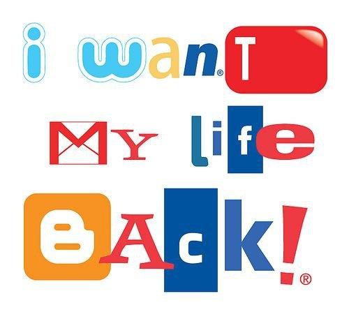 Reseaux sociaux - I want my life back - Humour