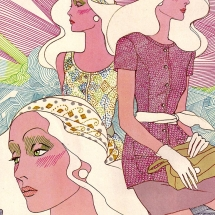 Illustration Fashion 1970