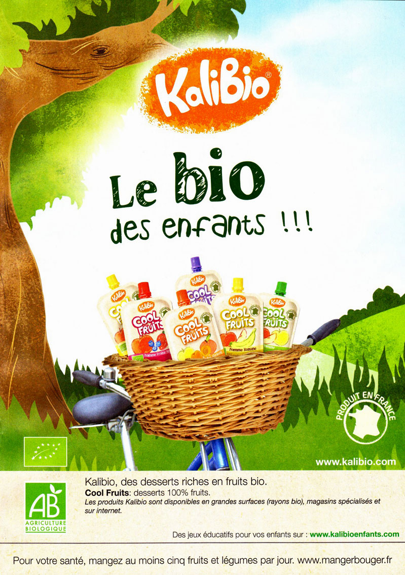 Kalibio Cool fruits bio