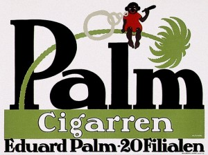 Klinger - Palm cigarren - 1906