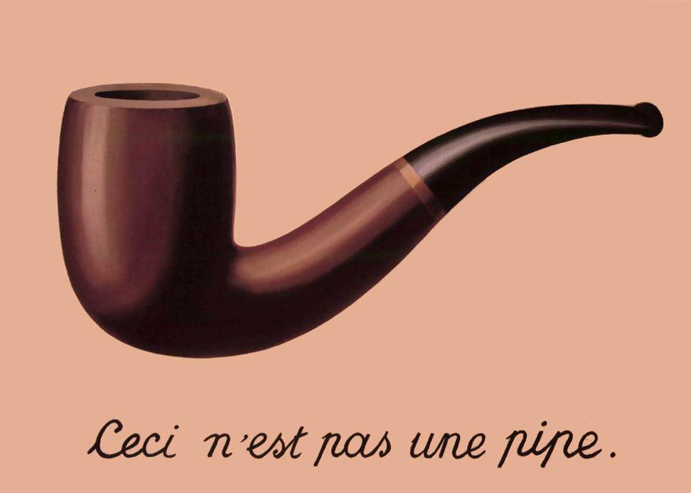 Magritte - La trahison des images - sémiologie