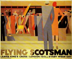 Flying Scotsman - Leo Marfurt - 1928