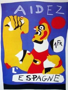 Miro - aidez l'Espagne - 1937