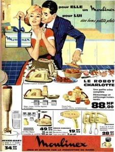 Pour elle Moulinex, pour lui des bons petits plats