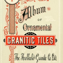 Ornamental granitic tiles - 1898