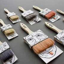 Packaging brosses et pinceaux