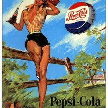 Pepsi pin up