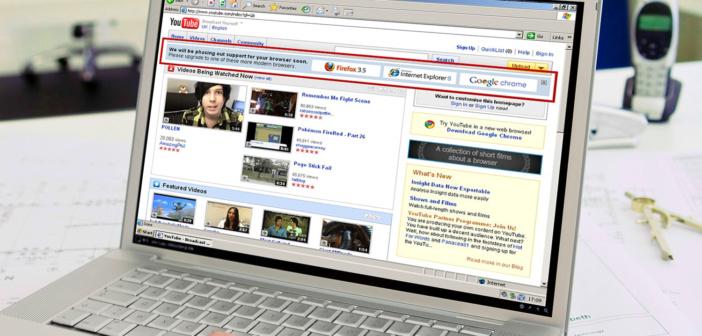 Comment des ingénieurs de YouTube ont tué Internet Explorer 6 en 2009