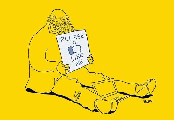 Please like me - Humour Eduardo Salles