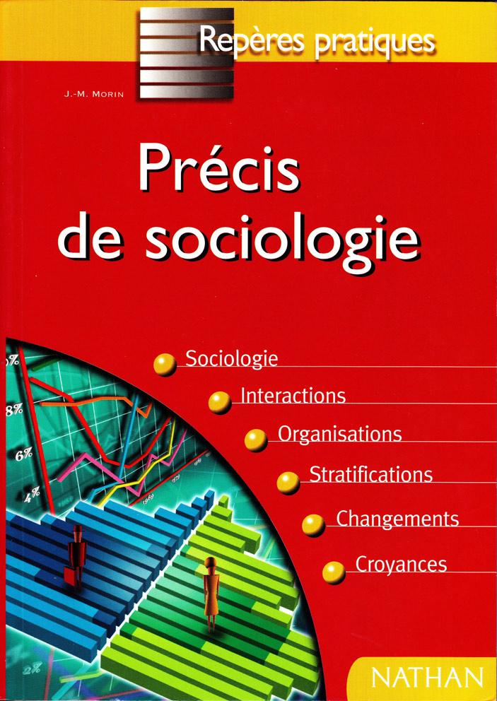 livre précis de sociologie