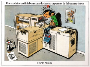 Rank Xerox - Gaston Lagaffe