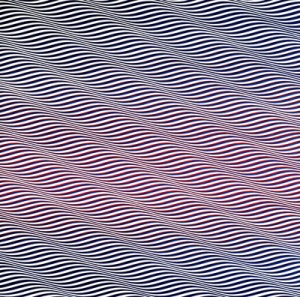Bridget Riley - cataract 3 - 1967