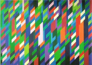 Bridget Riley - De Service - 1994