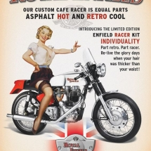 Royal Enfield pin up