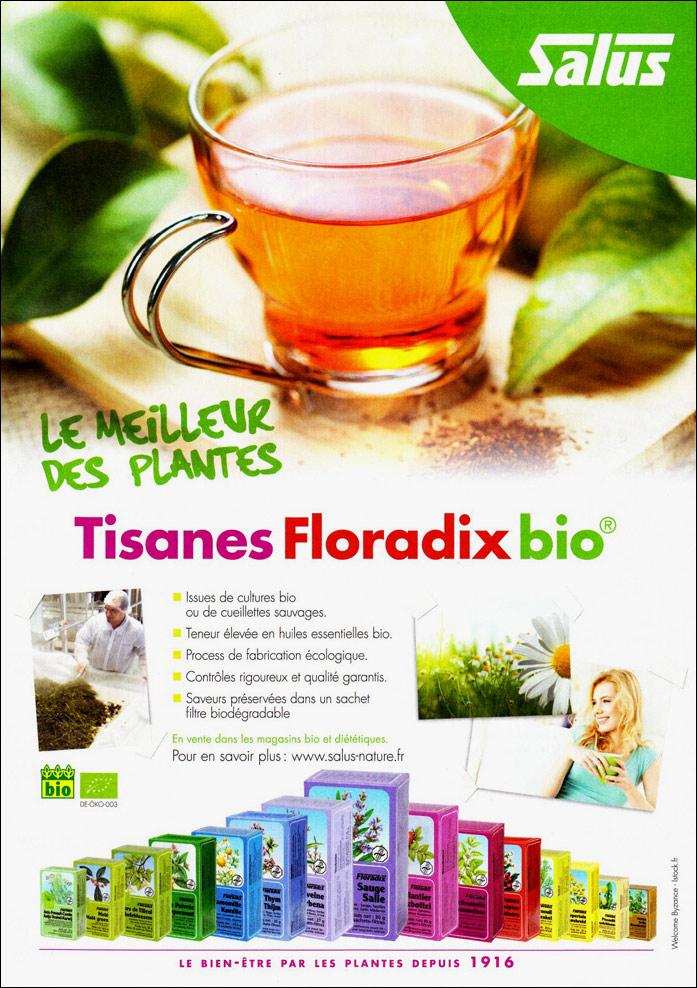 Salus tisanes Floradix bio