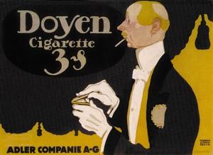 Scheurich - Doyen cigarette - 1913