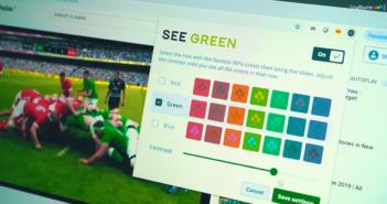 daltonien see green