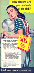 S.O.S. magic scouring pads