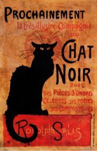 Steinlen - Chat Noir - 1896