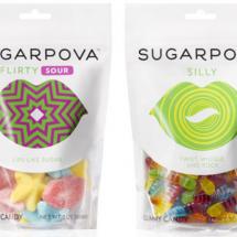 packaging créatif sugarpova