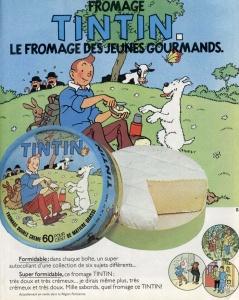 Tintin fromage