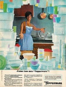J'aime tous mes Tupperware.