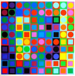 Vasarely - VAS03 - 1969