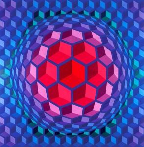 Vasarely - Cheyt Pyr - 1970-71