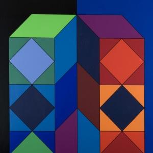 Vasarely - Xico - 1973