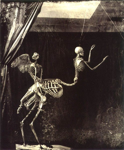 Joël-Peter Witkin - Cupid and Centaur in the Museum of Love - 1992